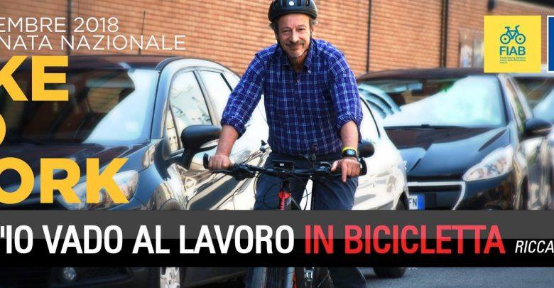 Photo of Riccardo Iacona lancia il#biketowork 2018!