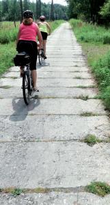 Ciclabile di cemento