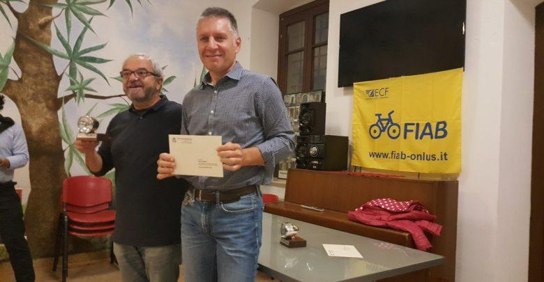 """Photo of A Renzo Segala il premio """"Amico della Bicicletta 2018"""""""