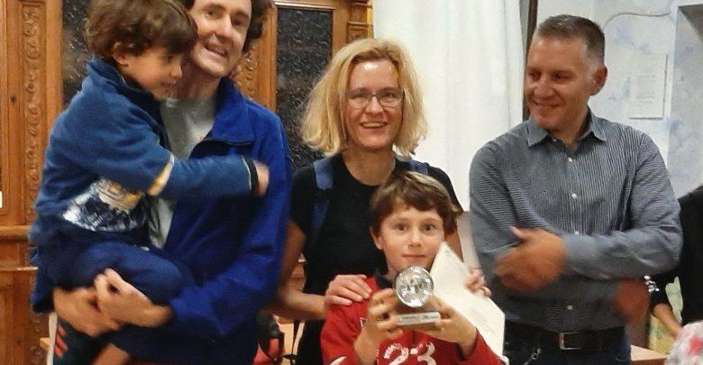 """Photo of Alla famiglia Fumagalli il premio """"Amico della Bicicletta 2019"""""""
