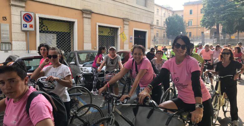 Photo of Biciclettata in rosa