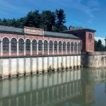 Inizio del canale Cavour