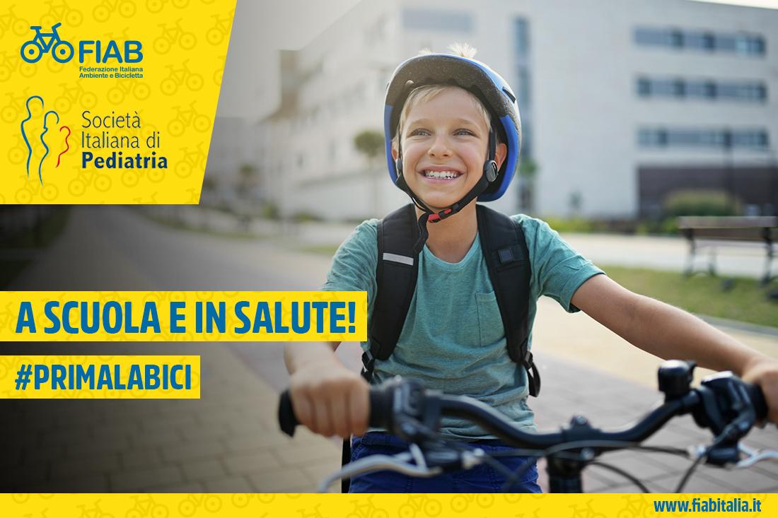 FIAB SIP | A scuola e in salute | DaiPedala | #PrimaLaBici (bike2school 2020.12) Sito